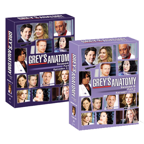 【送料無料】 グレイズ・アナトミー シーズン6 コレクターズ BOX Part1&2 セット