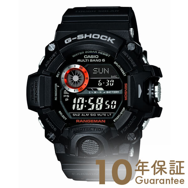 G-SHOCK カシオ Gショック レンジマン 世界6局ソーラー電波 GW-9400BJ-1JF [正規品] メンズ 腕時計 時計(予約受付中)