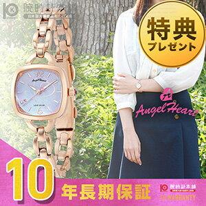 AngelHeart エンジェルハート ラブソーラー ピンクパール ステンレス スワロフスキー LSS24PGM [正規品] レディース 腕時計 時計