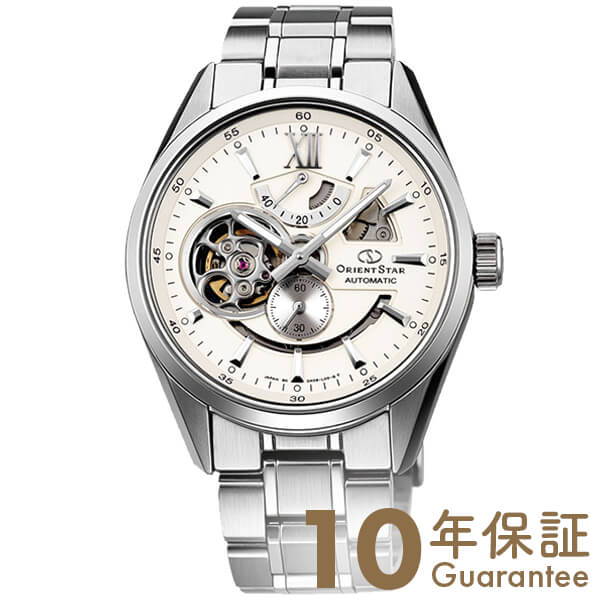 ORIENT オリエントスター オリエントスター モダンスケルトン 機械式 自動巻き (手巻き付き) アイボリー WZ0281DK [正規品] メンズ 腕時計 時計