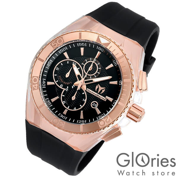 TechnoMarine テクノマリーン 替えベルト・ケースカバー付き TM115037 [輸入品] メンズ 腕時計 時計