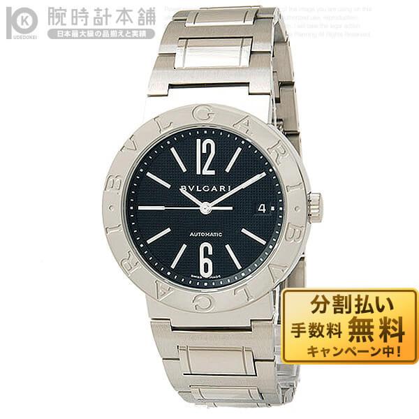BVLGARI [海外輸入品] ブルガリ ブルガリブルガリ ブラック 自動巻 BB38BSSD AUTO メンズ 腕時計 時計