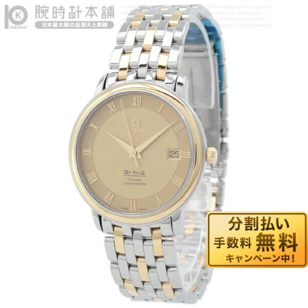 OMEGA [海外輸入品] オメガ デビル プレステージ 4374.11 メンズ 腕時計 時計【あす楽】