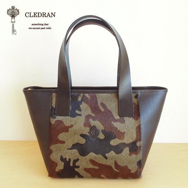 CLEDRAN (クレドラン) TRESO TOTE (CAMOUFLAGE×BLACK)