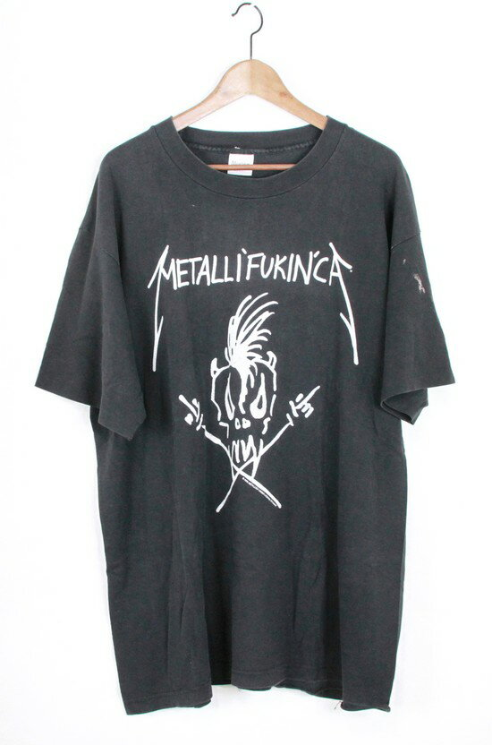 METALLICA/メタリカ 94年 メタリファッキンカ ヴィンテージTシャツ サイズ:XL カラー:ブラック【中古】【古着】【USED】【170824】s7 ya