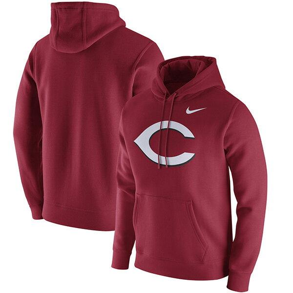 お取り寄せ お取り寄せ MLB レッズ クラブ パーカー ナイキ/Nike レッド