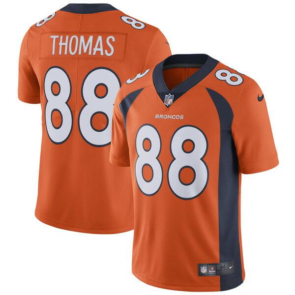 お取り寄せ NFL ブロンコス デマリアス・トーマス ヴェイパー アンタッチャブル リミテッド ユニフォーム ナイキ/Nike オレンジ