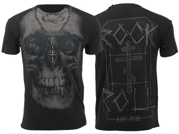 新作【THE SAINTS SINPHONY/セインツシンフォニー】SKULL DUGGERY・Tシャツ(半袖・CREWネック・ブラック・BLK)/メンズ【インポート】【セレカジ】【正規品】
