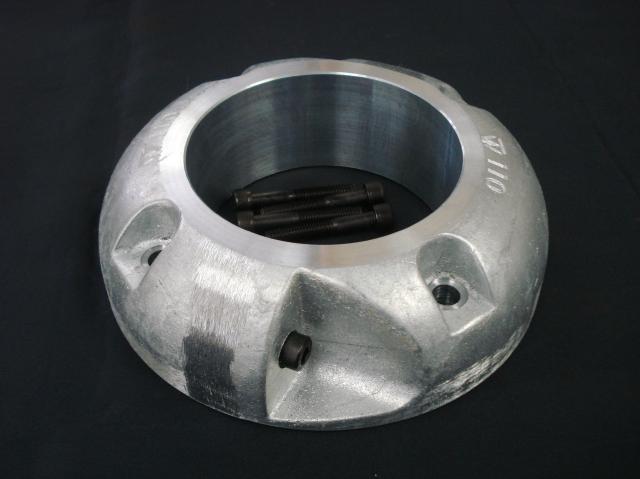 プロペラ用保護亜鉛φ110 二つ割