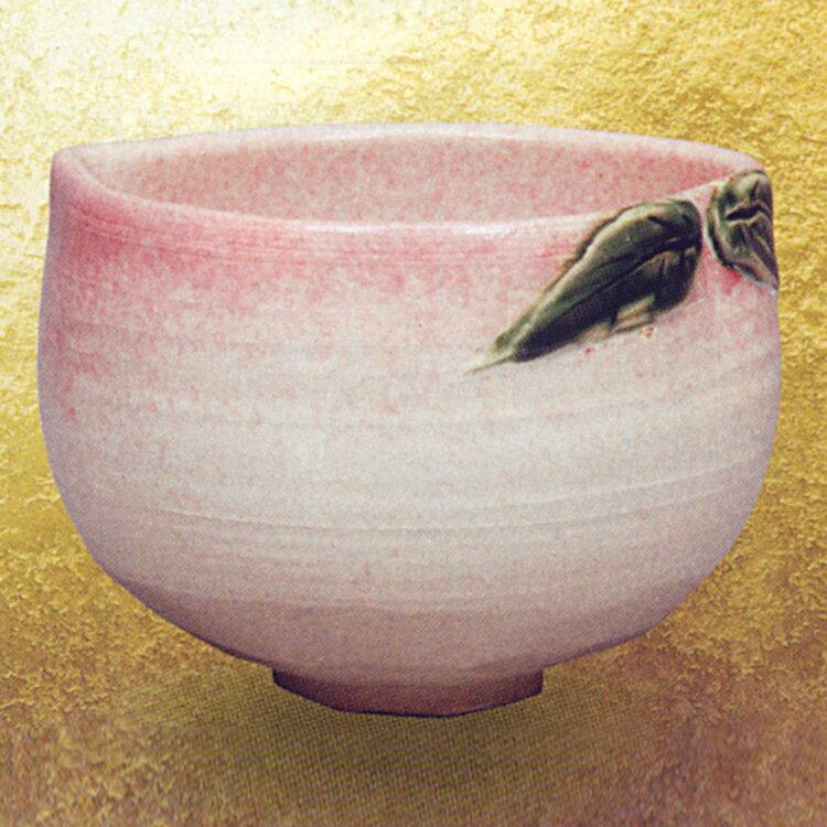 茶碗 桃 座間青陽 (茶道具 通販 楽天)