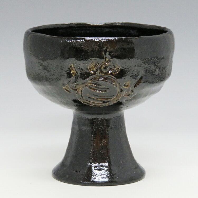 馬上杯 黒楽 宝珠 松楽窯 (茶道具 通販 楽天)