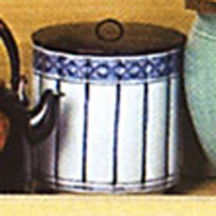 水指 染付 桶側 御室窯 水指(茶道具 通販 楽天)
