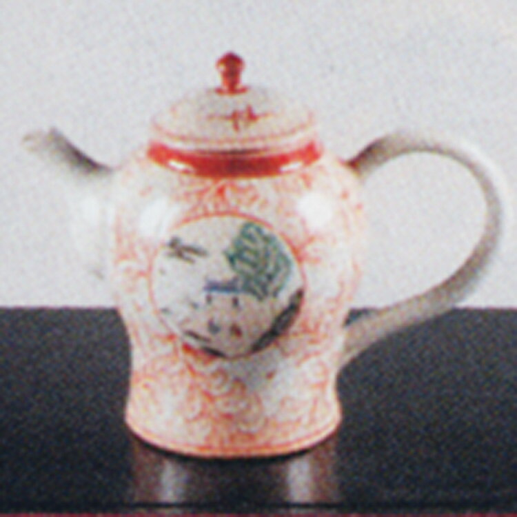 水注 赤絵 丸紋 太仙窯 (茶道具 通販 楽天)