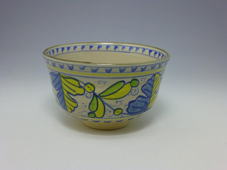 茶碗 オランダ写 橋本 永豊作