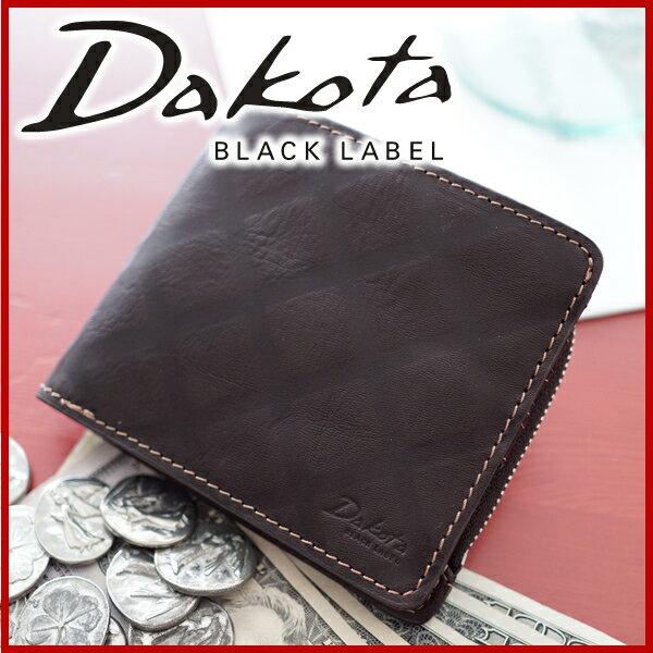 Dakota BLACK LABEL ダコタ ブラックレーベル 財布スクエア 小銭入れ付き二つ折り財布 0625201メンズ ダコタ 財布 二つ折り ポイント10倍 送料無料【楽ギフ_包装選択】