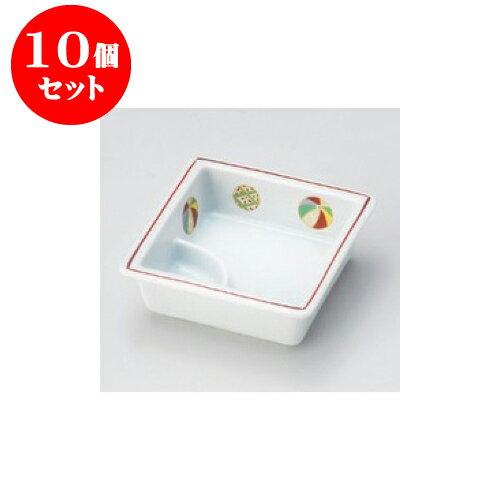10個セット 松花堂 夢風船仕切鉢 [11.5 x 4cm] 【料亭 旅館 和食器 飲食店 業務用】