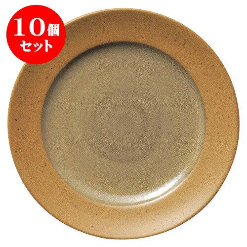 10個セット ガイアマスタード 21cmデザート [D21.1 X H2.5cm]   【洋食器 モダン レストラン ウェディング バー カフェ 飲食店 業務用】