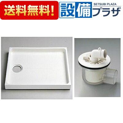【全品送料無料!】□[PWSP90F2W]TOTO 洗濯機パンセット(PWP900N2W+PJ001) 900サイズ 洗濯機パン+ABS樹脂製(透明)横引き排水トラップ(旧品番:PWSP90FW)