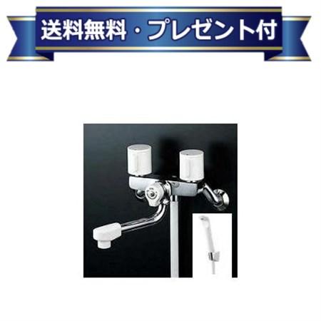 【全品送料無料!】【プレゼント付き】[KF2G3Z]KVK水栓金具 2ハンドルシャワー 水栓    ケーブイケー 寒冷地用 固定こま