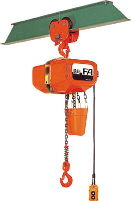 FAP-00560 象印 FA型プレントロリ式電気チェーンブロック0.5t