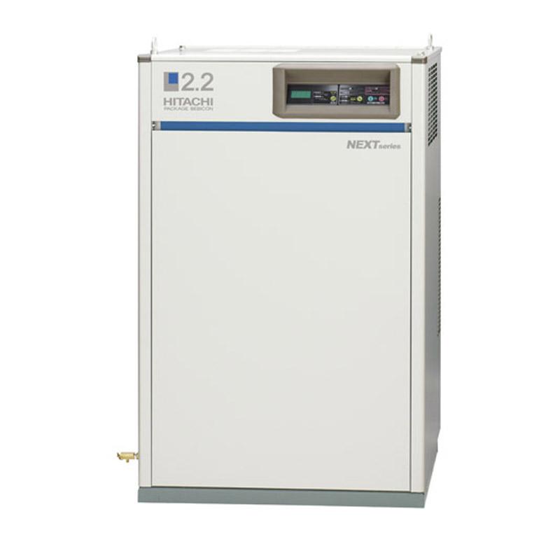 日立産機システム PBD-0.75PP5給油式パッケージベビコン 圧力開閉器式 ドライヤー付き 0.75kW 三相200V 50Hz