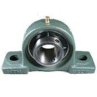NTN UKP322D1鋳鉄製ピロー形ユニット アダプタ方式 給油式