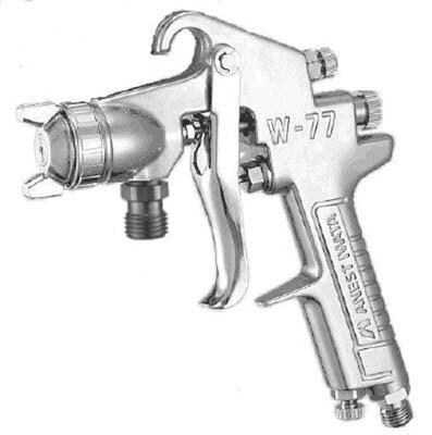 W-77-11S アネスト岩田 中形スプレーガン 吸上式 ノズル口径 Φ1.5