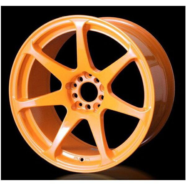 CST ZERO-1HYPER ゼロワンハイパー 18×9.0J 5/114.3 +30 蛍光オレンジ