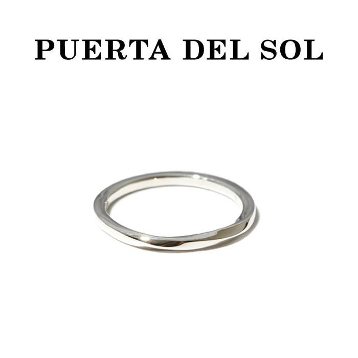 PUERTA DEL SOL プエルタデルソル Mobius Strip Narrow Ring SILVER メビウスストリップ ナロー リング シルバー
