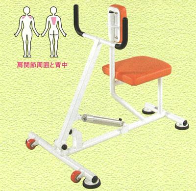 【受注生産品】【デイサービス トレーニングマシン】デーアシリーズ ローイング油圧マシン dea-N2