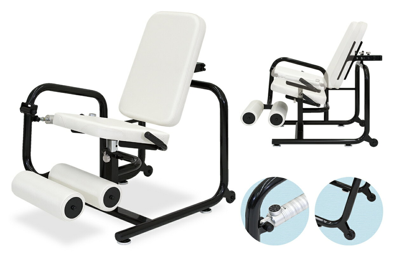 【レッグエクステンション】高田ベッド パワーリハビリLEC(下肢の伸展・屈曲運動) TB-781