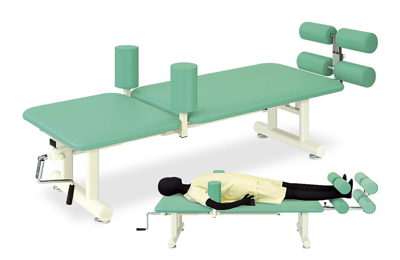【受注生産品】高田ベッド 牽引クランク治療台 TB-556