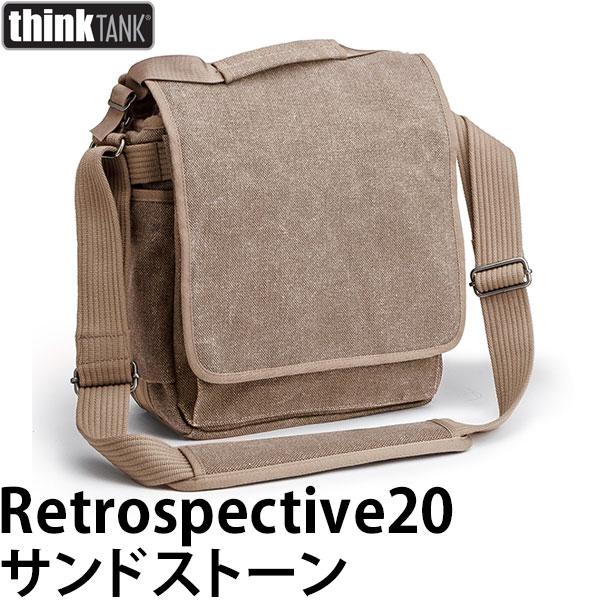 【送料無料】 シンクタンクフォト レトロスペクティブ20 サンドストーン [thinktank photo Retrospective20 カメラ ショルダーバッグ]