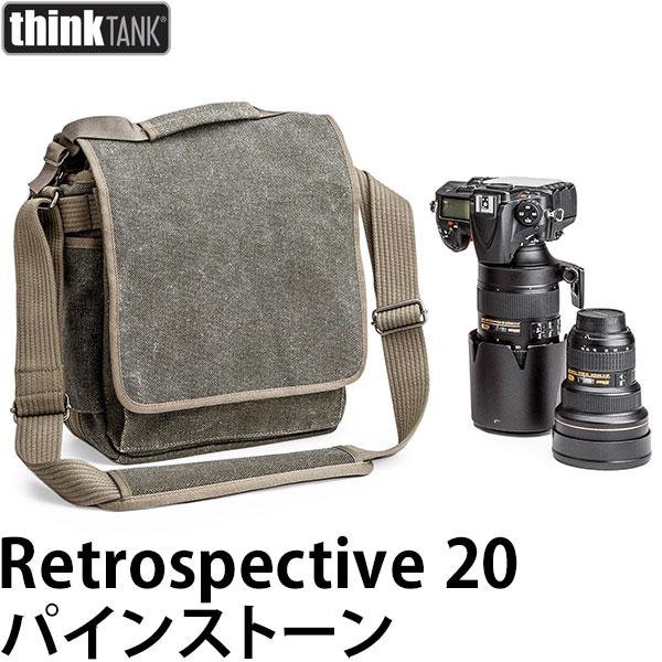 【送料無料】 シンクタンクフォト レトロスペクティブ20 パインストーン [thinktank photo Retrospective20 カメラ ショルダーバッグ]