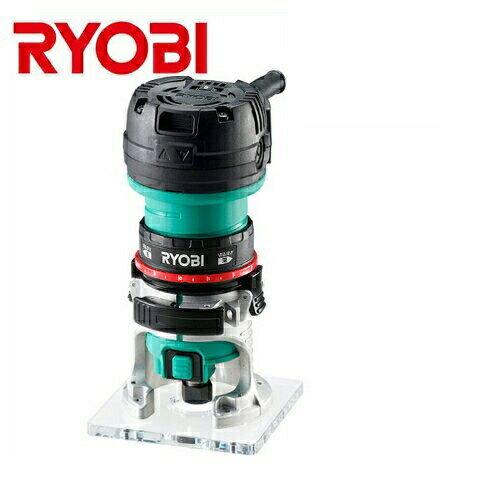 【RYOBI】リョービ販売<負荷をかけても回転数が落ちない>電子トリマ TRE-60V(回転数切替ダイヤル搭載)(ビット軸径:6mm)(ビット付き)