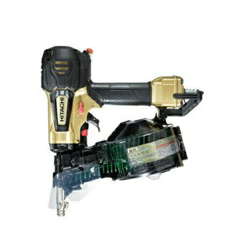 【Hitachi Koki】日立工機 50mm高圧釘打機(パワー切替機構 非搭載モデル) NV50HR(N)(メタリックゴールド)