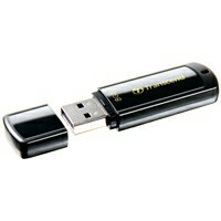 【トランセンド】 USBメモリ 8GB ブラック TS8GJF350★お得な10個パック