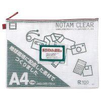 【雲州堂】 ノータムクリアA4 レッド UNC-A4#19 15枚 ★お得な10個パック