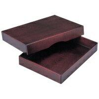 【yoshino】 高級木製決裁箱 Y-257 A4 ★お得な10個パック