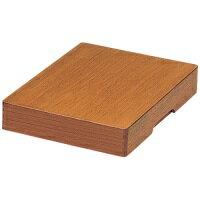 【yoshino】 木製決裁箱 YB-B4 B4 ★お得な10個パック