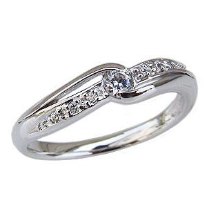 ダイヤモンドリング エンゲージリング  プラチナ ダイヤモンド 婚約指輪 ダイヤリング 天然石【RCP】