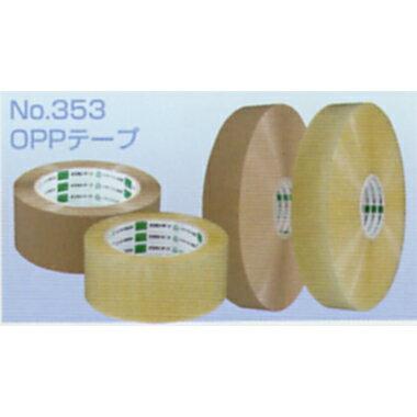 オカモト OPPテープ 長尺 No.353 透明巾48mm×長さ1000m×厚さ0.063mm 5ケース(5巻入×5ケース)(HA)[sp1709pt5]