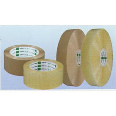 オカモトOPPテープ 長尺 No.3045 透明・クリーム巾48mm×長さ1500m×厚さ0.045mm 5ケース(5巻入×5ケース)(HA)[sp1709pt5]