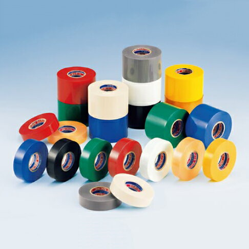 デンカ ビニテープ #101 (全9色)幅25mm×長さ20m×厚さ0.2mm 1ケース(200巻入)(HA)[sp1709pt5]