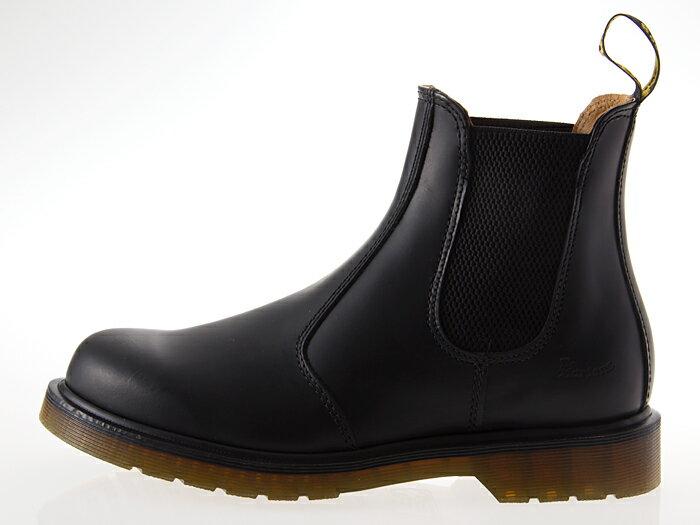[ドクターマーチン] Dr.Martens 2976 CHELSEA BOOT チェルシー ブーツ サイドゴア BLACK 黒 #11853001