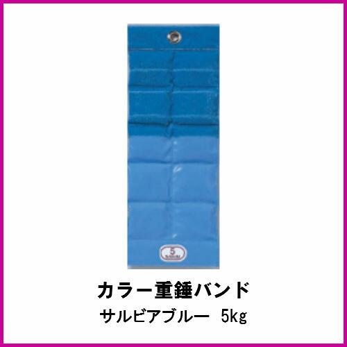 酒井医療 カラー重錘バンド サルビアブルー 5kg