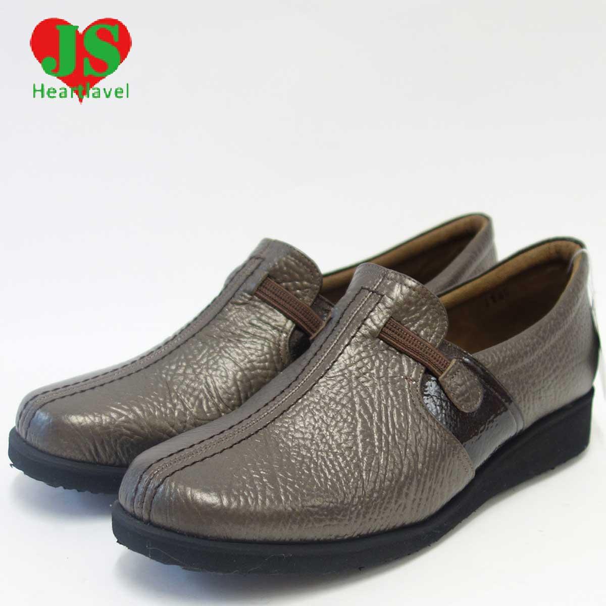 大特価販売 JS ジェイエス 1145 ブロンズ(レディース)日本製軽量?ゆったりEEEEの楽ちんシューズ天然皮革のカジュアルシューズ 「靴」