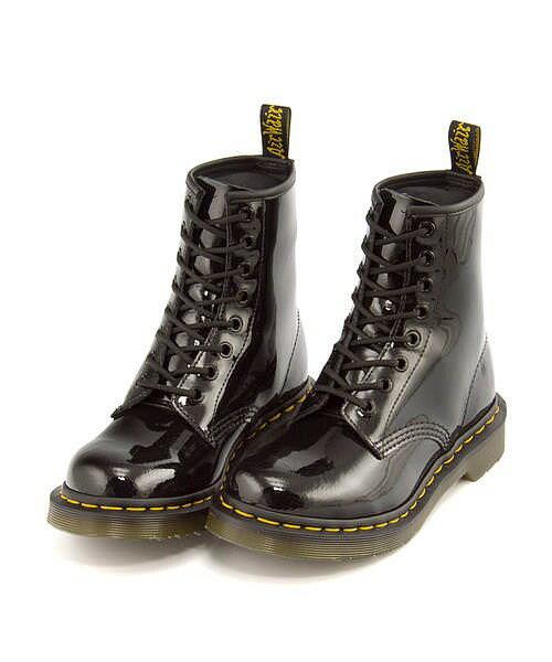 ドクターマーチン レースアップ ブーツ レディース 8 ホール ブーツ CORE 1460 W 8 EYELET BOOT  Dr.Martens 11821011 ブラックパテントランパー