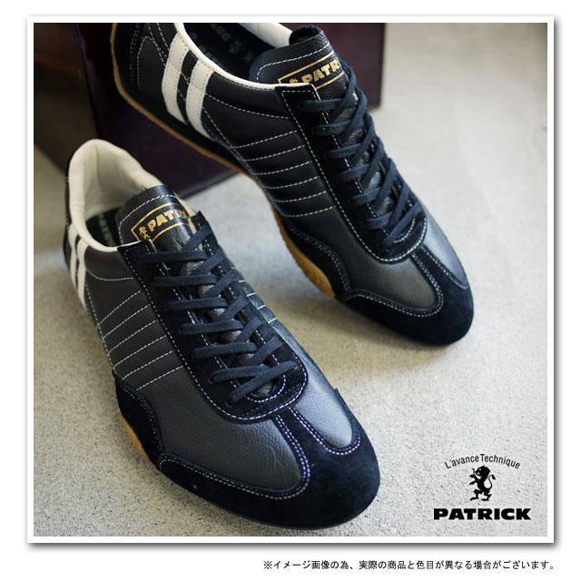 【返品送料無料】パトリック スニーカー PATRICK メンズ レディース 靴 JET-LEATHER ジェット レザー ブラック24011 日本製 パトリック【コンビニ受取対応商品】