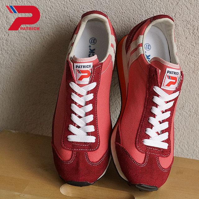 【即納】【返品送料無料】パトリック スニーカー メンズ レディース 靴 マイアミ・キャンバス PATRICK MIAMI-CV PNK (528307 SS16)【コンビニ受取対応商品】